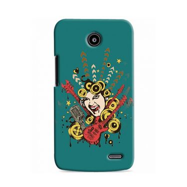 Snooky Digital Print Hard Back Case Cover For Lenovo A820 Td12101