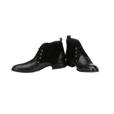 Delize Leather Casual Shoes 5056A-Black