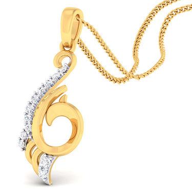 Kiara Sterling Silver Avani Pendant_5185P