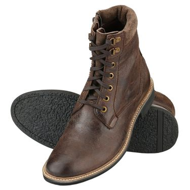 Delize Leather Boot 60011-Brown