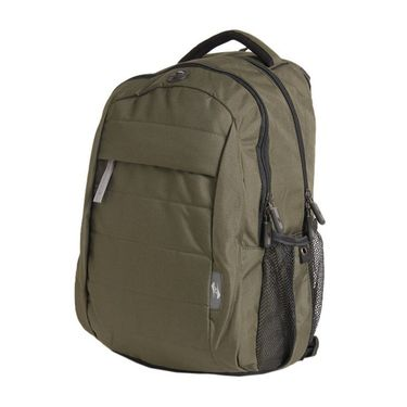 American Tourister Polyester Backpack At24 -Olive Green