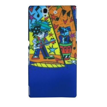 Snooky Designer Hard Back Case Cover For Sony Xperia Z L36h Td13065