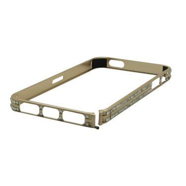 Snooky Premium Metal & Diamond Bumper Case Cover For Iphone 5s / 5g Td13380