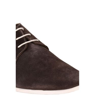Delize Suede Leather Casual Shoes 7751-Brown