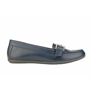 Delize Leather Womens Loafers 7752-Blue