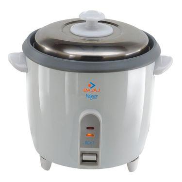 Bajaj RCX7 Automatic Rice Cooker - White