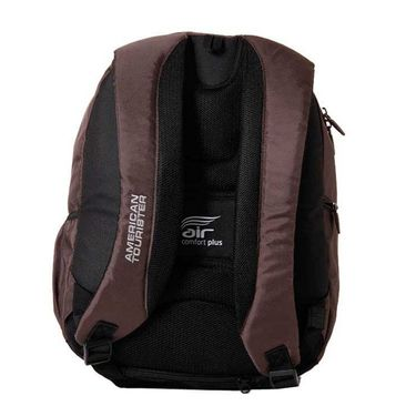 American Tourister Polyester Backpack At33 -Brown