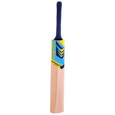Mayor Natural Color Kashmir Willow Cricket Bat - SH