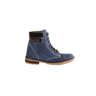 Bacca bucci Suede Leather Boots 969 - Navy Blue