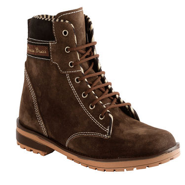 Bacca bucci Suede Leather Boots 970 - Brown