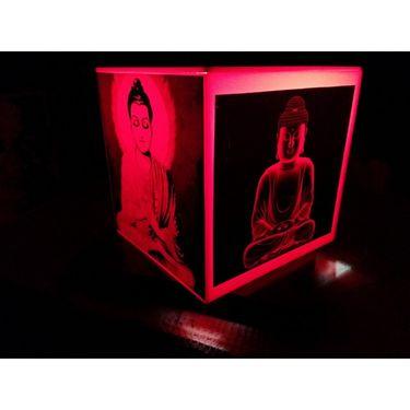 Apeksha Arts Gautam Buddha Lamp White-AANL2001-9