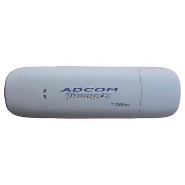 Adcom Thunder 3G USB Data Card - White