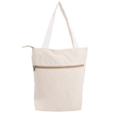 Arisha Cotton Khadi Handbag AE40l -Cream