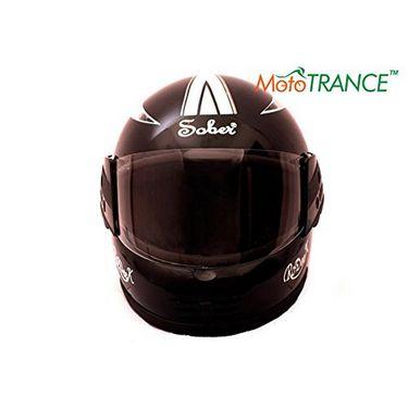 Mototrance Sober Rodick Monster Multi Graphics Full Face Helmet (Matt Black)