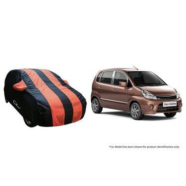 Autofurnish Stylish Orange Stripe Car Body Cover For Maruti Ertiga  -AF21220