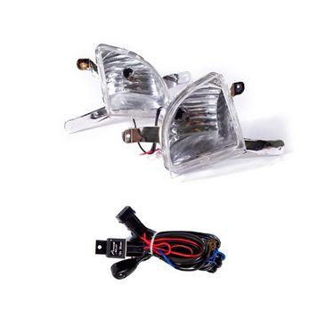 Mahindra XYLO Fog Light Lamp Set of 2 Pcs. With Wiring