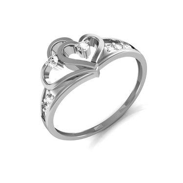 Ag Real Diamond Nilam Ring_AG0098w