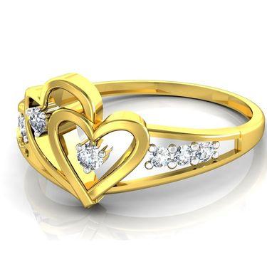 Ag Real Diamond Kishori Ring_AG0098y