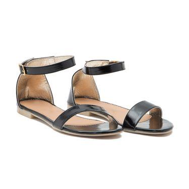 Aleta Synthetic Leather Womens Flats Alwf0216-Black