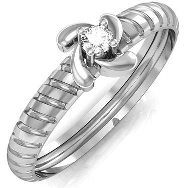 Avsar Real Gold & Swarovski Stone Samiksha Ring_A043wb
