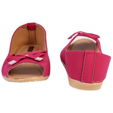 Azores Womens Pink Ballerina -Azf_12Pi