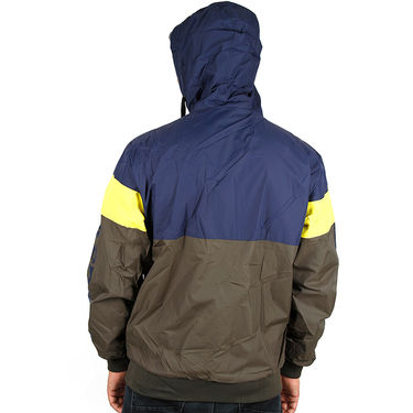 Adidas Men Full Sleeves Jacket_Adidas07 - Grey