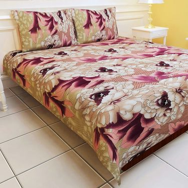 Carah exclusive pack of two bedsheet with 4 pillow covers(CRH-DB120)