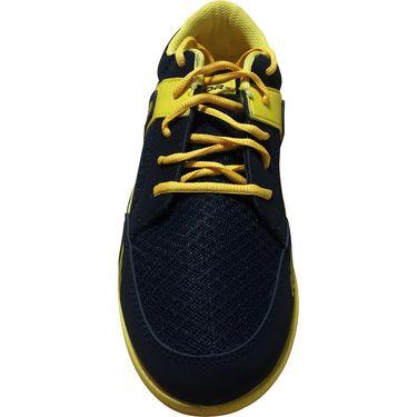 Mayor  Amaze Black, Yellow Shoes - 9