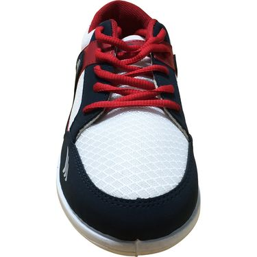 Mayor  Amaze Navy, White & Red Shoes - 9