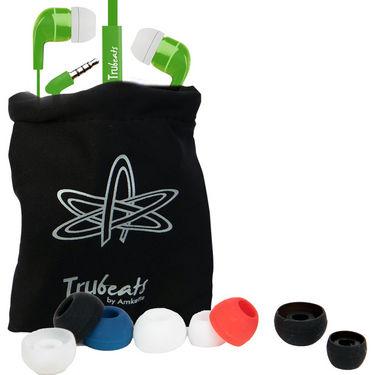 Amkette Trubeats Atom X10 In-Ear Headphones - Green