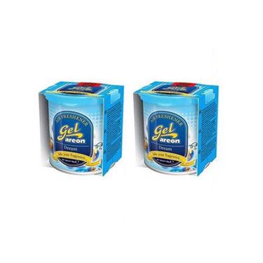 Pack of 2 Areon Dream Fragrance Gel Air Freshner