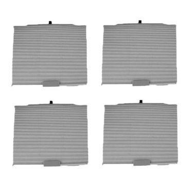 AutoStark Auto Folding Car Sun Shade (Set Of 4) Grey