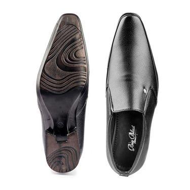 Kohinoor Footwears Faux Leather Formal Shoes BB03_Black