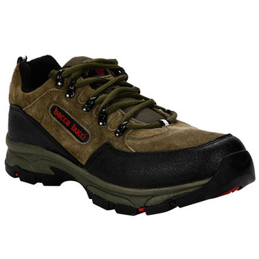 Bacca Bucci Leather Sports Shoes  Bbma2091G -Olive