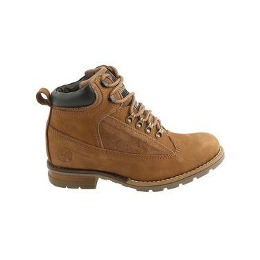 Bacca bucci Leather  Boot Bb025 _Tan