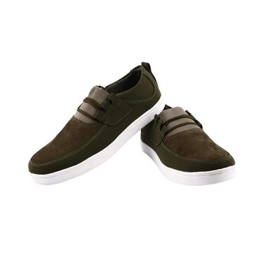 Bacca Bucci Canvas Olive Casual Shoes -Bbmb3065G