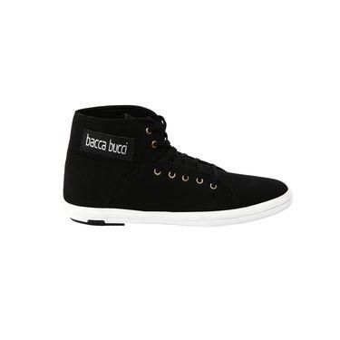 Bacca Bucci Canvas Black Casual Shoes -Bbmb3068A