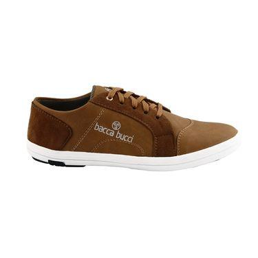 Bacca Bucci PU & suede  Casual Shoes  Bbmb3087D -Tan
