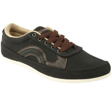 Bacca Bucci Canvas  Casual Shoes Bbmb3100A -Black