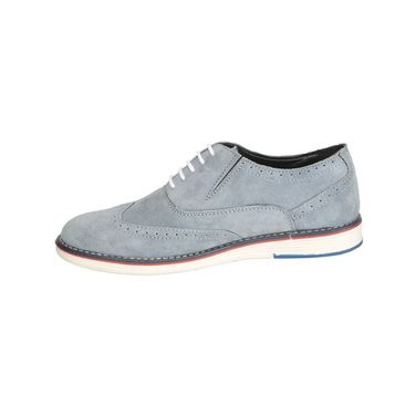 Bacca Bucci Suede Leather Sky Blue  Casual Shoes -Bbmb3111O