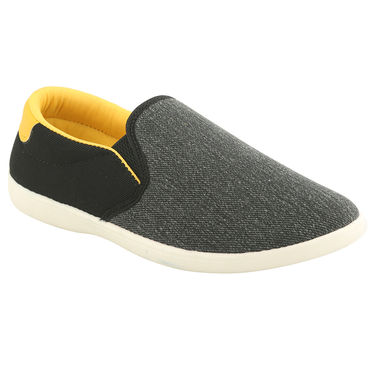 Bacca Bucci Canvas  Black Casual Shoes -ntb15