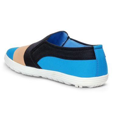 Bacca Bucci PU Sky Blue Casual Shoes -Bbmb3156O