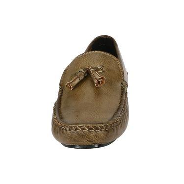 Bacca Bucci PU Olive Loafers -Bbmc4046G