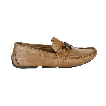 Bacca Bucci PU Beige Loafers -Bbmc4050E