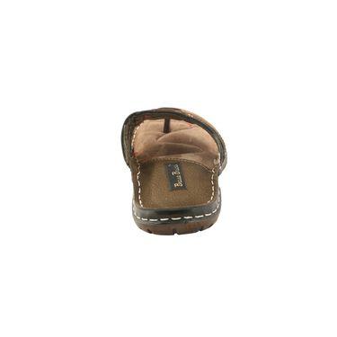 Bacca bucci Leather  Slipper Bb032 _Olive