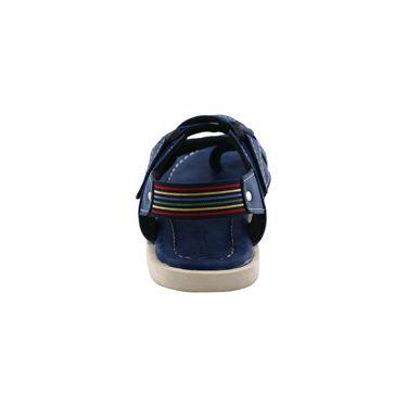 Bacca Bucci Leather  Sandal  Bbme6009B -blue