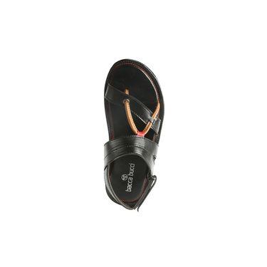 Bacca bucci Leather  Sandal Bb030 _Black