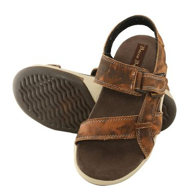 Bacca Bucci Genuine Leather Tan  Sandals -Bbme6023D