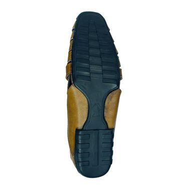 Bacca Bucci Leather Tan Sandals -Bbme6043D