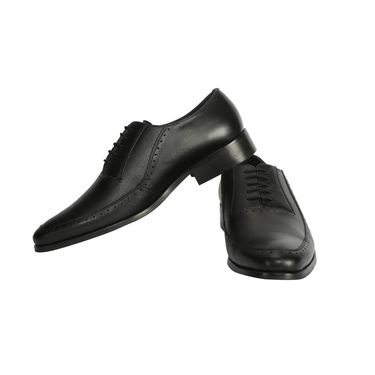 Bacca Bucci Genuine Leather Black  Formal Shoes -Bbmf7324A